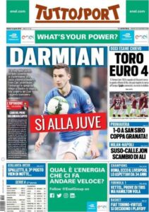 Le prime pagine dei quotidiani sportivi :: Siena Club ...